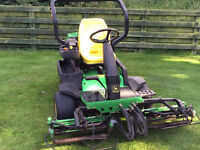 John Deere 2500 with 12 bladed cylinders