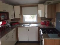 Luxury 8 berth caravan for let, Seton Sands Haven