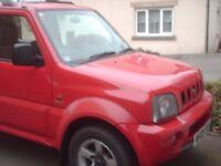 SUZUKI JIMNY VVTS ,petrol 2005