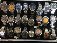 Seiko , Rolex , Omega , Breitling , Panerai ,military watch wanted