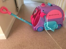 Disney doc mcstuffins mobile clinic £25 - practically brand new has never been played with