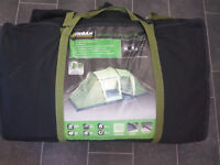 Urban Escape 4 man tunnel tent. Used twice only and is like new