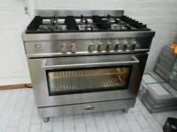 Britannia RC9SGQLS Dual Fuel Range Cooker 90cm