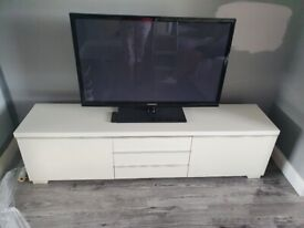 Ikea Tv Stand & DVD Wall Cabinet