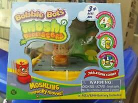 Moshi monster bobble bots - cobblestone corner