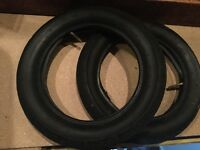 2x tyre inner tube, 121/2x21/4(57-203) came off a quinny Buzz pushchair