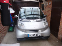 Smart fortwo passion convertible 2005 55 registered