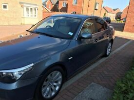 BMW 525D - Excellent Condition, Full Service History, TV, DVD, CD, NAV, Leather, Run-flat, Automatic