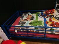 blue bunk beds msttresses duvet sets quilts