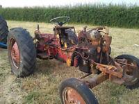 International 2350/ B444 Industrial tractor