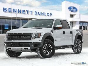 2012 Ford F-150 RAPTOR-CREW-SB-MOON ROOF-NAV