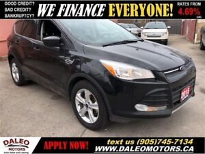 2015 Ford Escape SE|4x4|BACKUP CAM| HEATED SEATS| BLUETOOTH