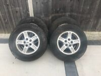 Landrover discovery td5 wheels and tyres
