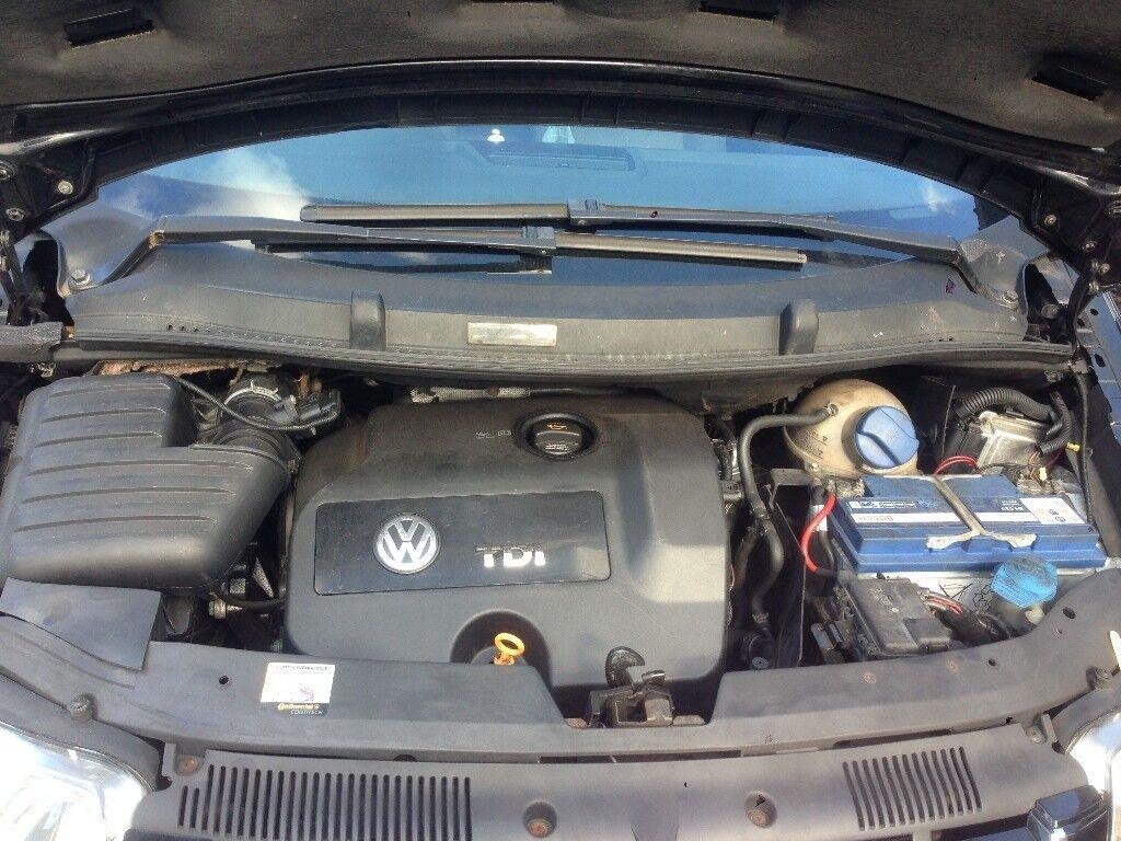 VW SHARAN 2006 1.9 TDI AUTOMATIC GEARBOX GPE