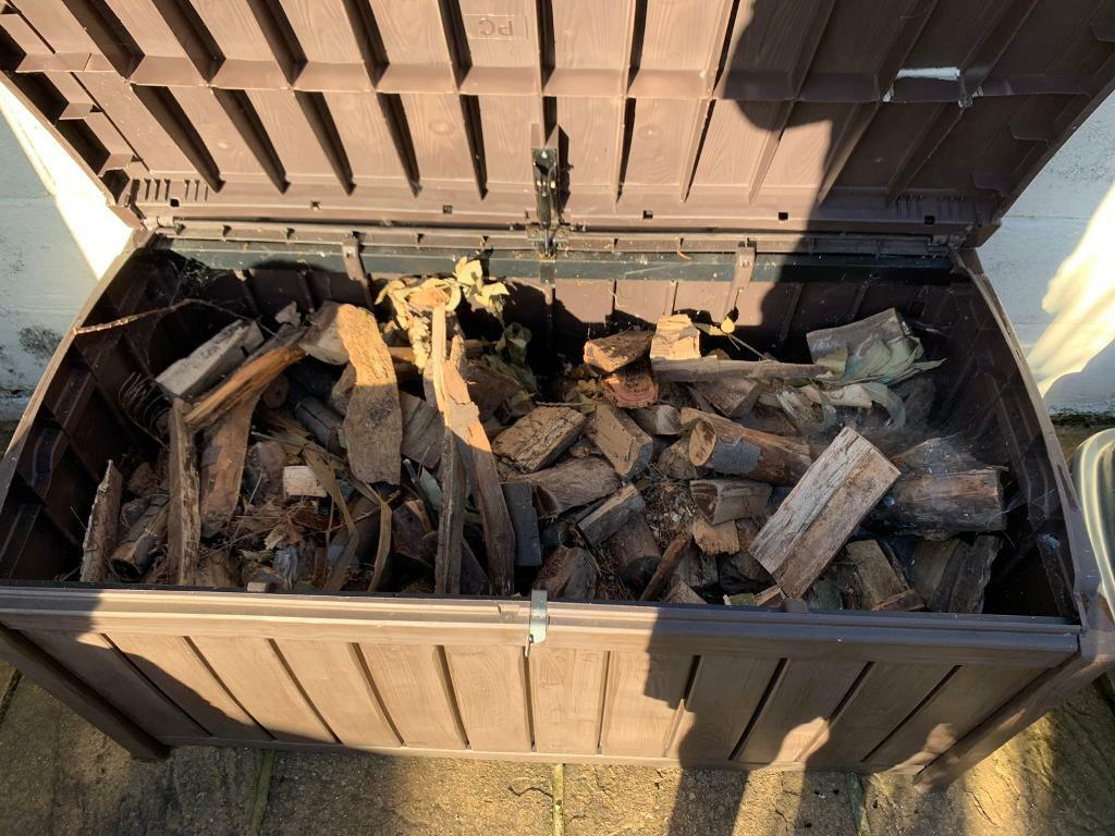 Wooden smoker and storage box with fruits wood   in Poole, Dorset   Gumtree