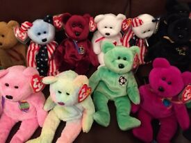 TY Beanie Babies Collection x74