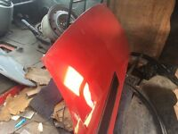 vauxhall vivaro van red 1.9 DI 2002 Red Bonnet all parts available