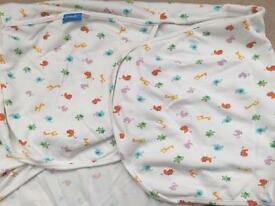 Swaddle me baby blanket