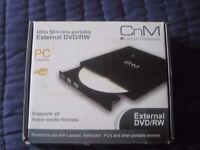 CnM external DVD/RW portable drive