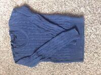 Blue Tommy Hilfiger jumper, Size XS, for sale