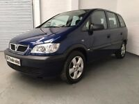 2005 VAUXHALL ZAFIRA 1.8 LIFE 7 SEATER ***FULL YEARS MOT***
