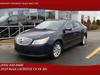 2010 Buick LACROSSE CX V6,3.0L/DEMAREURE A DISTANCE