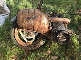 Old motorbike engines