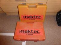 TWO x Makita/Maktec Cordless Drills