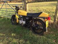 Honda CG250T barn find 1 owner restoration project. All original. Rare cafe racer 250CG 250T custom