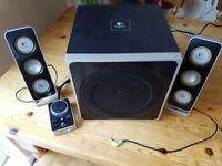 Logitech Z4 pc speakers