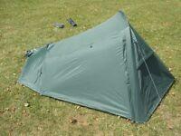 Backpacker Lightweight 2 Man Tent - Green