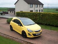 2013 VAUXHALL CORSA 1.2 3 DOOR LIMITED EDITION **A REAL EYE CATCHER!!**