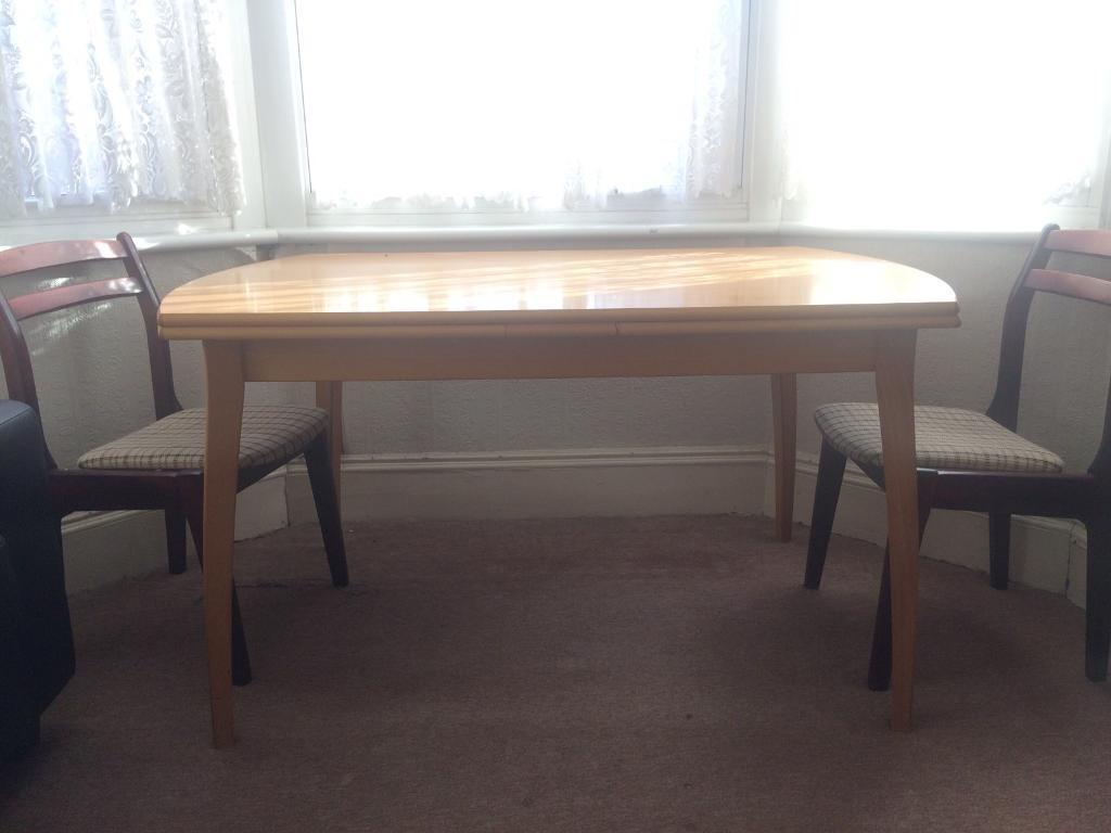 Heavy study dining table