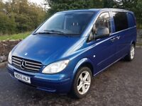2005 MERCEDES VITO 109 - LOW MILEAGE - IDEAL #VANLIFE CAMPER CONVERSION (ALREADY CARPETED/INSULATED)