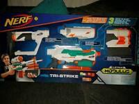 Nerf tri strike