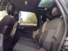 2007 (Sep 57) VAUXHALL MERIVA 1.4 16V DESIGN - MPV 5 Doors - Petrol - Manual -BLACK*LONG MOT/SUNROOF