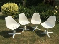 4x vintage original Arkana chairs