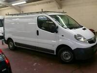 2010 60 REG VAUXHALL VIVARO LWBROOF RACK TOW BAR NO VAT