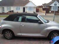 chrysler pt cruiser convertable automatic