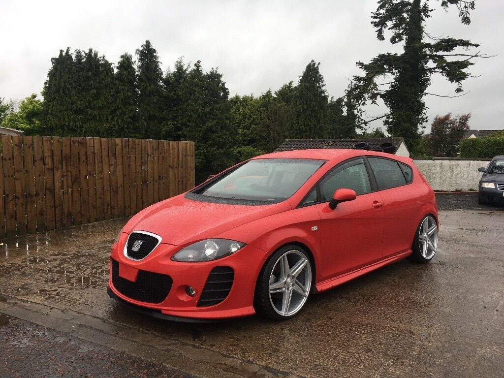 2007 seat leon 2 0 tdi 140 sport fully kitted not golf. Black Bedroom Furniture Sets. Home Design Ideas