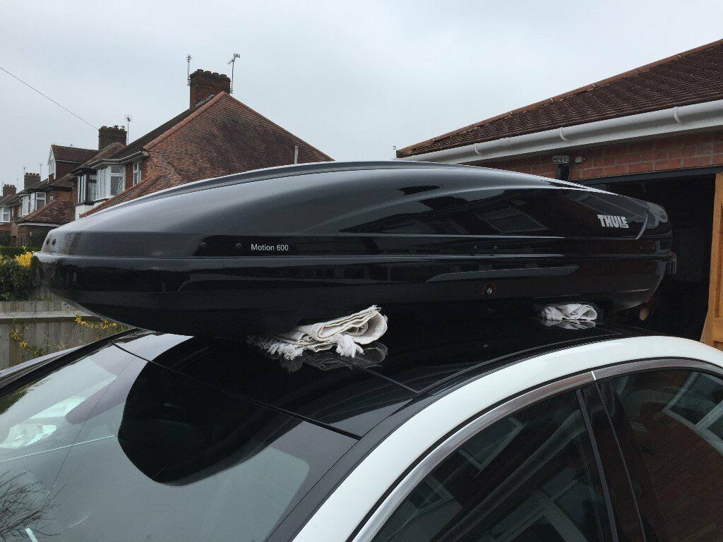 Spiksplinternieuw Thule Motion 600 300 litre Roof Box, Used once and in very good WY-38