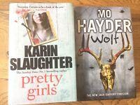 Karin Slaughter Pretty Girls & Mo Hayder Wolf