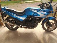 GPZ500s Wreg ,Blue Spares or Repair. starts and runs