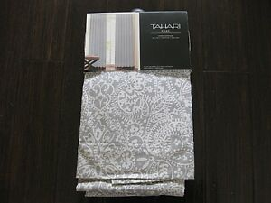 New Tahari Medallion Damask Window Panels Drapes Curtains