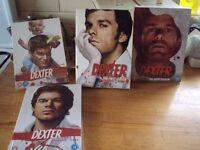 dexter dvds ,boxed sets 3 still sealed rated 18
