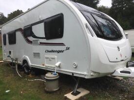 Swift Challenger SE 580 4 Berth Caravan