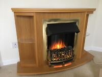 Electric Fire with suround