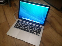 "13"" Apple MacBook Pro mid 2014 with Retina Display, 120GB SSD, 8GB RAM - READ DESCRIPTION!"
