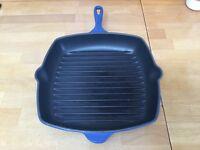 Le Creuset Griddle Pan Blue