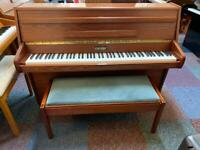 Small Zender upright piano **FREE DELIVERY, TUNING & 5 YR GUARANTEE**
